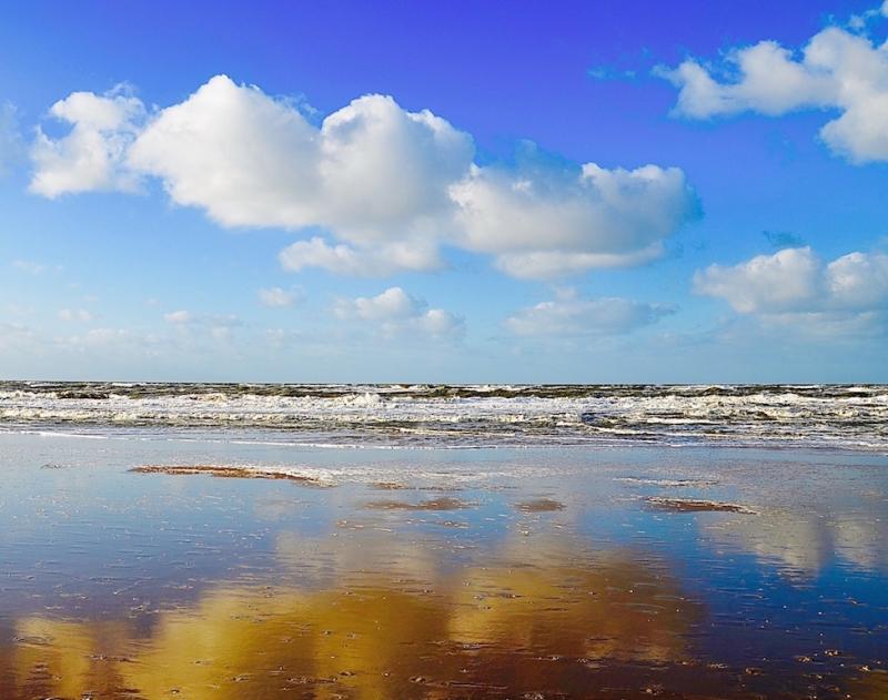 Nieuw--originele foto zee zicht