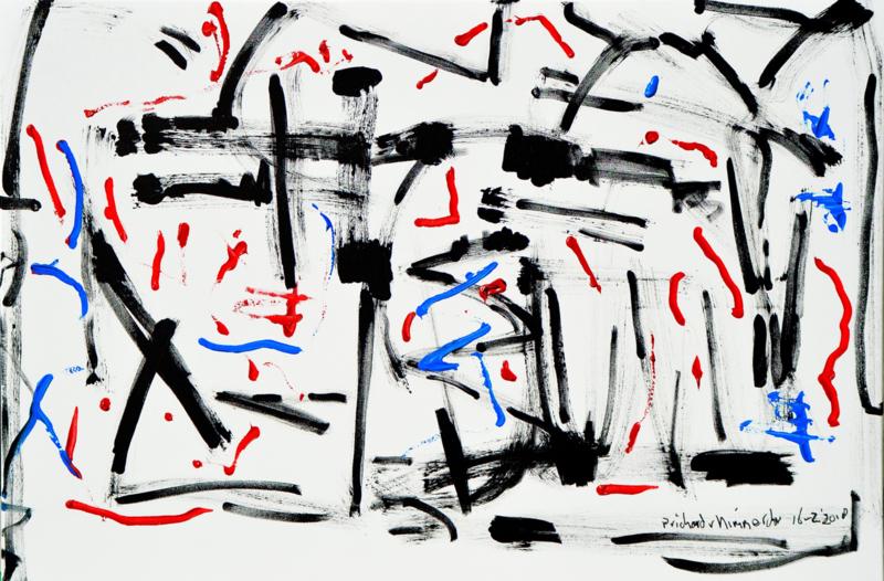 Nieuw schilderij, abstract nr 27