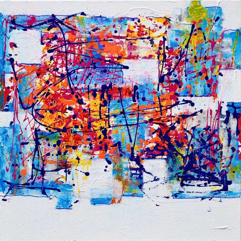 Nieuw schilderij  abstract nr 9