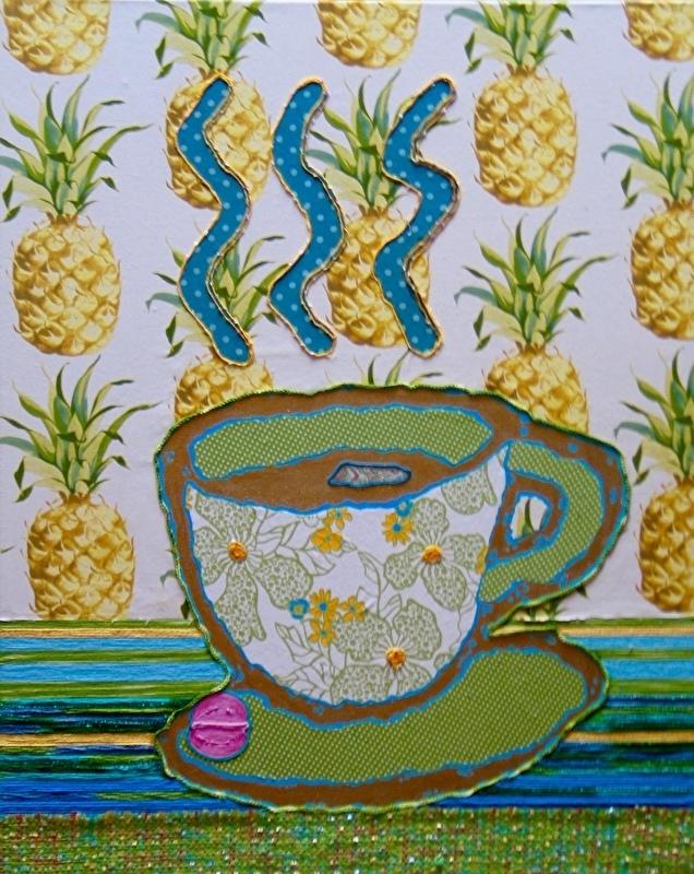 Nieuw schilderij thee time