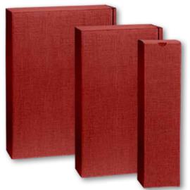Geschenkverpakking rood