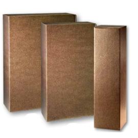 Geschenkverpakking brons lederlook