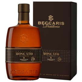 Beccaris Grappa Moscato Riserva 70 Anni 42%