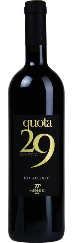 Menhir Quota 29 Primitivo 2018