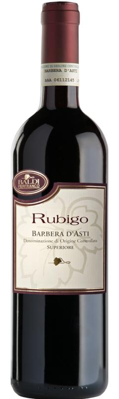 Barbera d'Asti Superiore Rubigo 2015