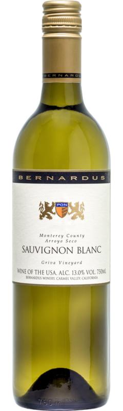 Bernardus Monterey County Sauvignon Griva '18