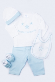 5-delige kadodoos a star is born, wit/blauw