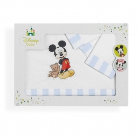 Lakenset mickey mouse
