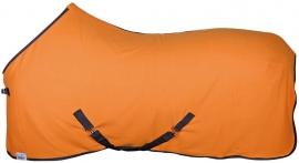 Fleecedeken Color oranje