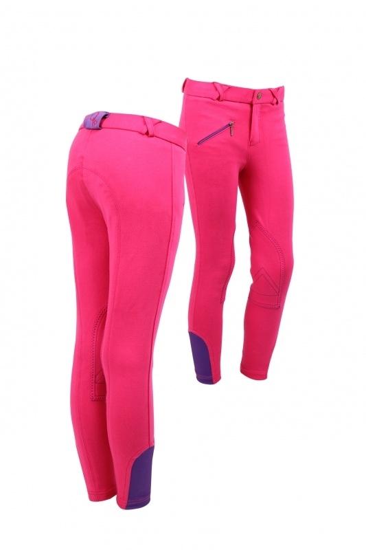 Rijbroek QHP junior roze