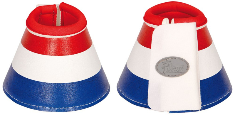 Springschoenen rood/wit/blauw