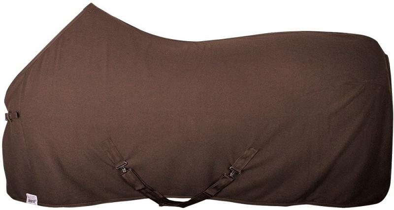 Fleecedeken Color bruin
