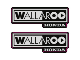 2002-2003 Honda Wallaroo Logo Set 1
