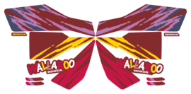 1992 Custom Maroon/Yellow Version