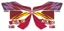 1992 Custom Maroon/Yellow Version