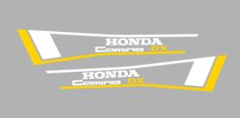 Honda Camino DX Set Yellow/White