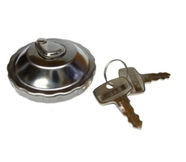 3chr. Fuel Cap Chrome Lockable