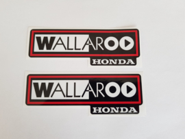 2002-2003 Honda Wallaroo Logo Set 2