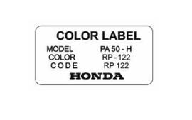 """Color Label RP 122 """"Brugge Purple"""""""