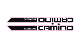 Honda Camino Set Black Transparent