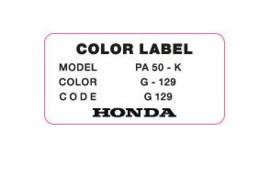 """Color Label G 129 """"Brugge Green"""""""