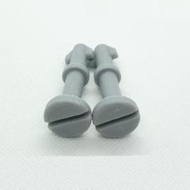 15. 2x Pin Grey