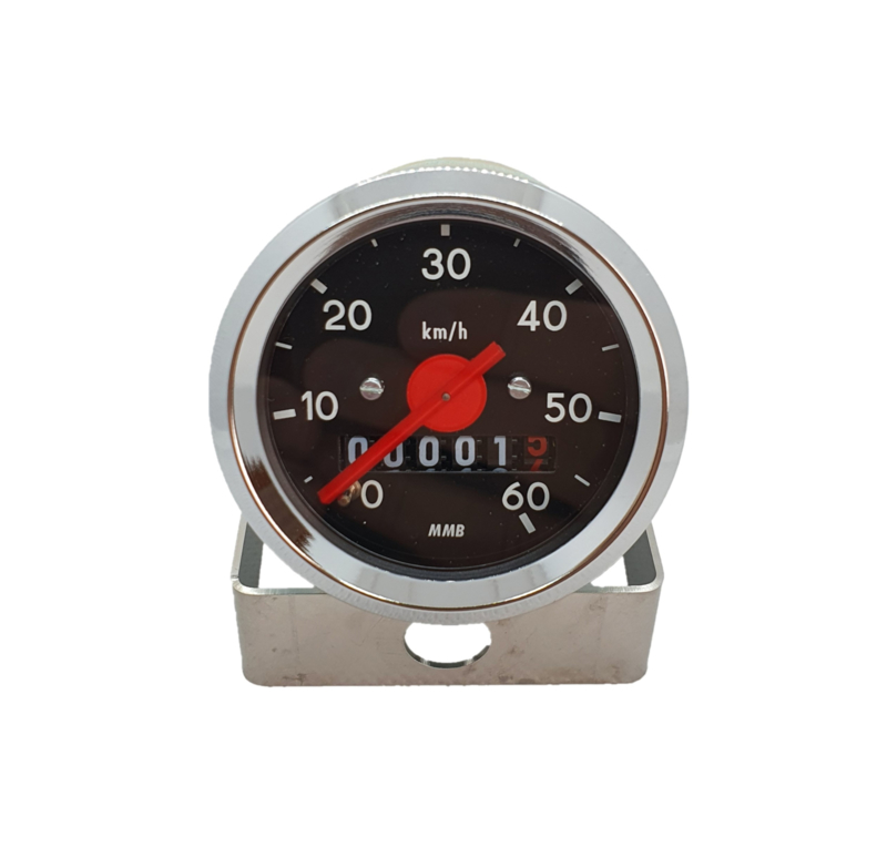 6. Speedometer 48MM Black