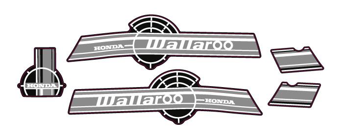 2003 Honda Wallaroo Set