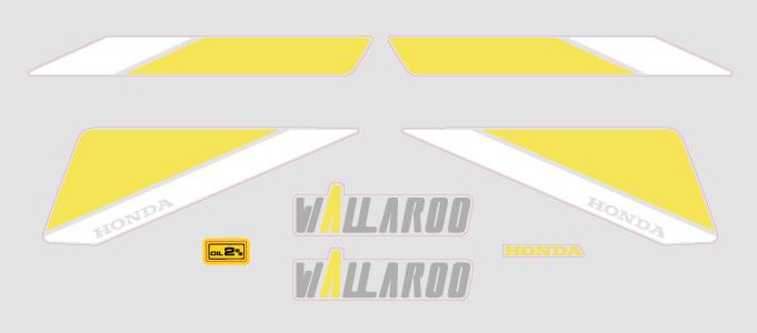 1990 Wallaroo Set Model 07 transparant