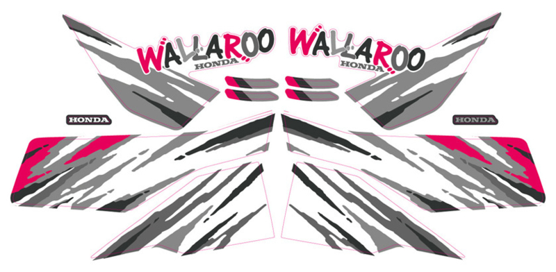 Honda Wallaroo Speciaal Set 5