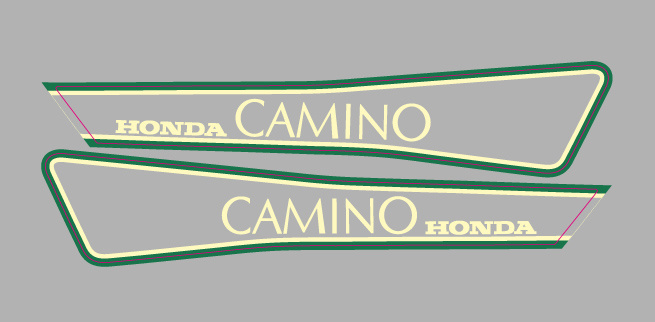 Honda Camino Set Green