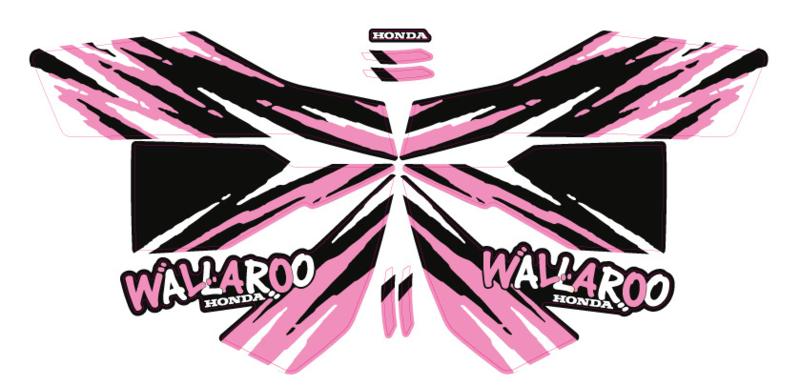 Honda Wallaroo Speciaal Set 10