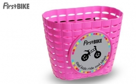 Firstbike Mandje Roze | Art. Nr. FBMP