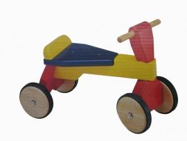 Pintoy 21 Vierwieler Loopfiets met Laadbak | Art. Nr. 0539
