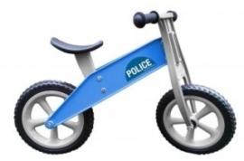 Red Toys Tourer Politie Blauw zonder rem