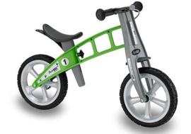 Firstbike Street  Green PU met rem  |  Art. Nr. L2006PU