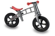 loopfiets firstbike cross silver