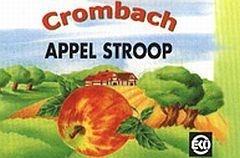 Crombach appel-peren-dadelstroop 320g
