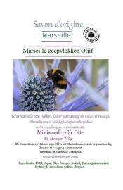 Marseille zeepvlokken olijf 1000g
