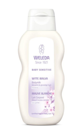 Weleda Baby witte malva sensitive bodymilk 200 ml.