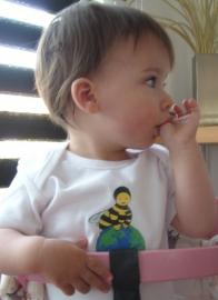 Honey Bee Baby body short sleeves