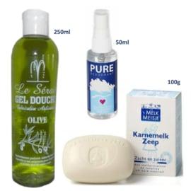 Bio persoonlijke hygiëne KORTING pakketten