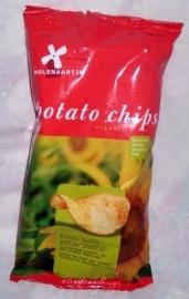 Molenaartje aardappelchips naturel 125g