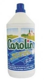 Carolin natuurzeep blauw voor binnen met lijnolie 2 Liter fles