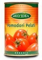 La bio idea tomaten stukjes in blik 400g