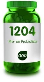 AOV 1204 Pre- en probiotica (v/h 1113) 30 cap.