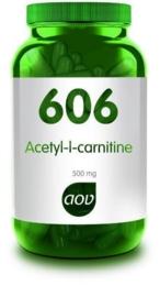 AOV 606 Acetyl l-cARNITINE 500 MG 90 VCap.