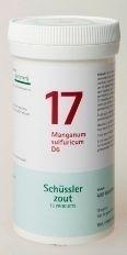 Manganum sulfuricum 17 6 Schussler 400 tabl.