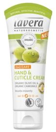 Lavera Hand & cuticle creme 75ml.