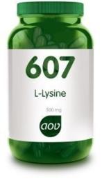 AOV 607 L-Lysine 500 mg 90 VCap.